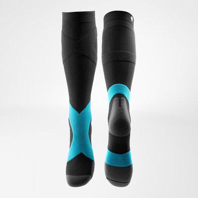 Bauerfeind Compression Socks Training (charcoa/riviera)