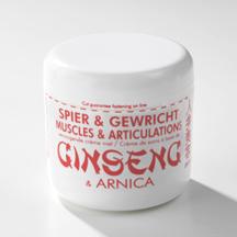 Ginseng Creme Spieren + Arnica