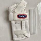 Rafys Polsbrace Textiel wit_