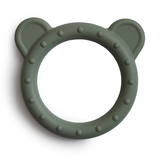 Mushie Bijtring Teether Bear  │ Dried Thyme_