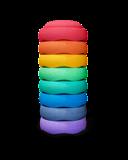 Stapelstein Rainbow Purple 8 │ Groot set_