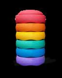 Stapelstein Rainbow Purple 6 │ Klein set_