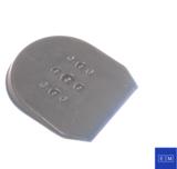 Softsole Heel Wedges (Inleghakken/hakverhoging) - achterkant