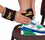 MVS Gewichtsmanchet pols, knie, enkel (1 kg) _