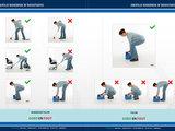 STEP Brochure: voorbeelden (on)veilig ruggebruik bij rugklachten door bukken, tillen en zitten_