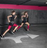 Bauerfeind Sports Compression Sleeve Upper Legg pink_