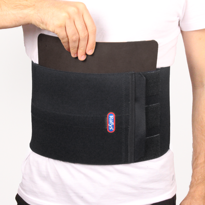 Rafys Low Back brace recht + leer (man)