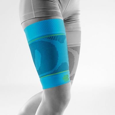 Bauerfeind Sports Compression Sleeve Upper Legg riviera