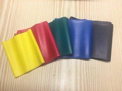 MSD Band set: geel/rood/groen/blauw/zwart