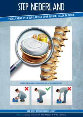STEP Brochure: PDA - Rugklachten door bukken, tillen en zitten