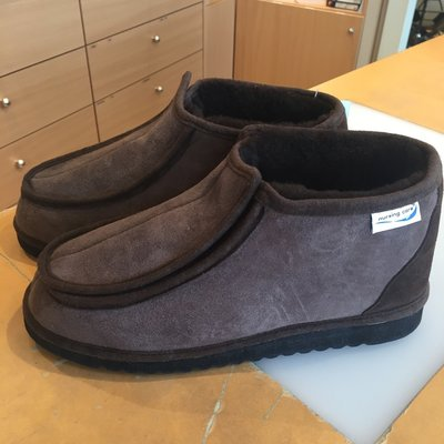 Pantoffel Winterwool Brown