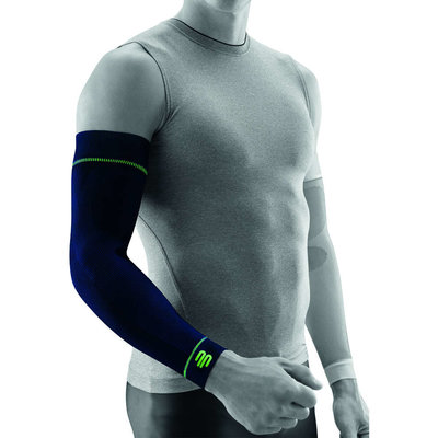 Bauerfeind Sports Compression Sleeves arm navy blue