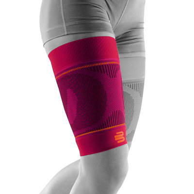 Bauerfeind Sports Compression Sleeve Upper Legg pink