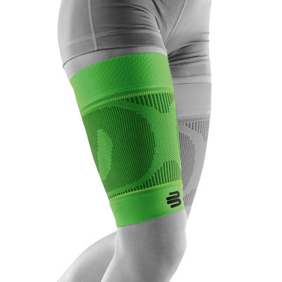 Bauerfeind Sports Compression Sleeve Upper Legg green