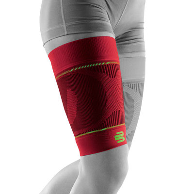 Bauerfeind Sports Compression Sleeve Upper Legg red