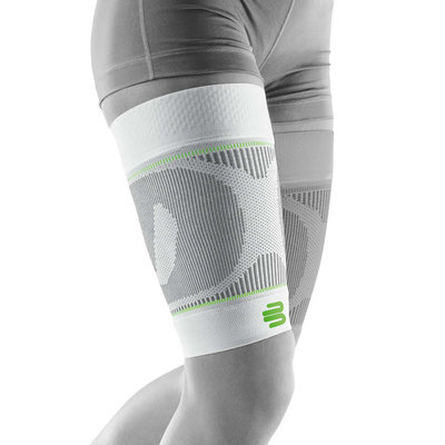 Bauerfeind Sports Compression Sleeve Upper Legg white