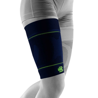 Bauerfeind Sports Compression Sleeve Upper Legg navy blue