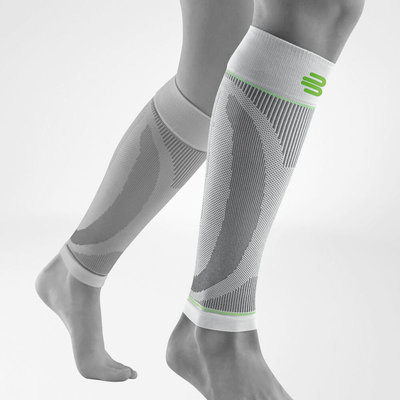 Bauerfeind Sports Compression sleeve lower leg white