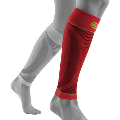 Bauerfeind Sports Compression sleeve lower leg red