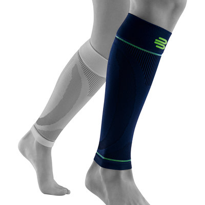 Bauerfeind Sports Compression sleeve lower leg navy blue