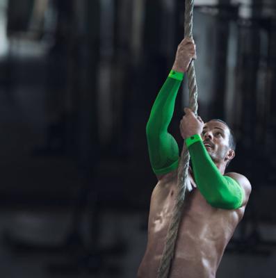 Bauerfeind Sports Compression Sleeves arm green