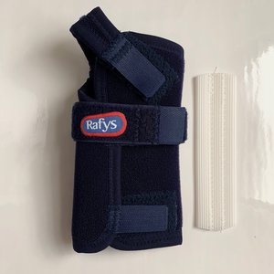 Rafys Polsbrace Textiel blauw
