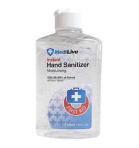 MediLive Desinfecterende transparante Handgel (236 ml)