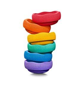 Stapelstein Rainbow Purple 6 │ Klein set