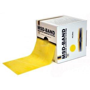 MSD Oefenband geel - 45,5 meter