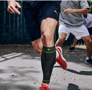 Bauerfeind Sports Compression sleeve lower leg black